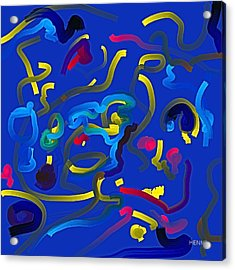 Acrylic Print featuring the painting Potential by Robert Henne