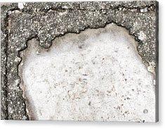 Pothole Acrylic Print