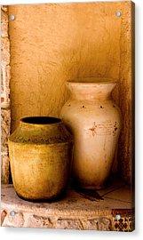 Pottary Mexico Acrylic Print by Xavier Cardell