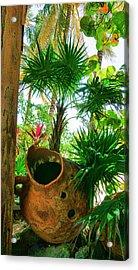 Pottery Ambergris Caye Belize Acrylic Print