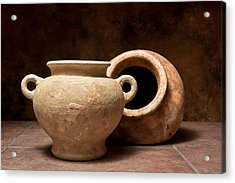 Pottery II Acrylic Print by Tom Mc Nemar