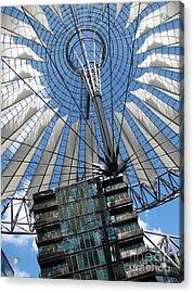 Acrylic Print featuring the photograph Potzdamer Platz Berlin by Erik Falkensteen