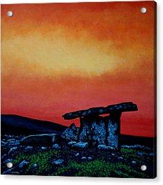 Poulnabrone Dolmen Ireland Acrylic Print