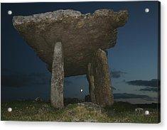 Poulnabrone Dolmen Acrylic Print by John Quinn