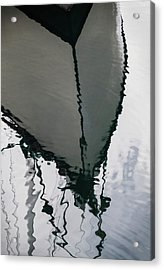Poulsbo Boat Abstract Acrylic Print