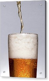 Pouring Beer Acrylic Print