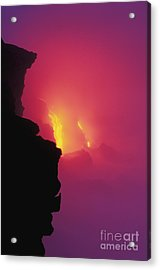 Pouring Lava Acrylic Print by William Waterfall - Printscapes