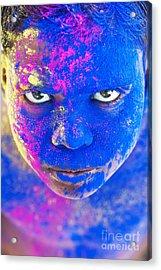 Powder Boy Acrylic Print by Tim Gainey