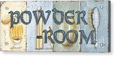 Powder Room Acrylic Print by Debbie DeWitt