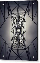 Power Above Acrylic Print