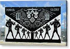 Power And Glory Acrylic Print