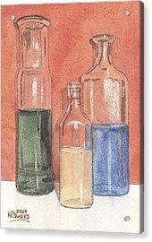 Power Failure Prescriptions Acrylic Print by Ken Powers