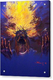 Power From On High Acrylic Print by Tommy  Winn