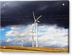Power-full Acrylic Print