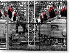 Power Generation Acrylic Print by William Jones