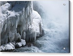 Power Has No Fear Of The Cold Acrylic Print