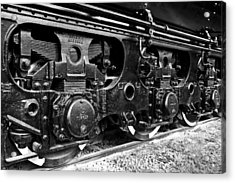Power In The Age Of Steam 6 Acrylic Print by Dan Dooley