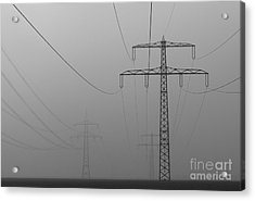 Power Line Acrylic Print
