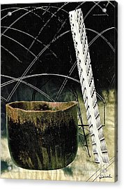 Power Lines Acrylic Print by Sarah Loft