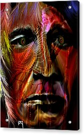 Power Of The Spirits Acrylic Print by Michelle Dick