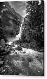 Power Of Water Acrylic Print by Edward Kreis