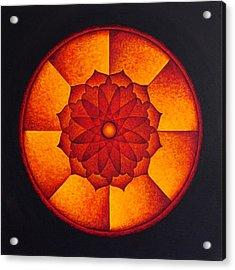 Power Wheel Acrylic Print