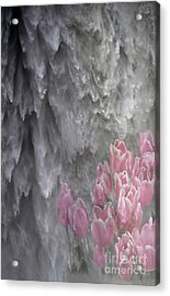 Acrylic Print featuring the photograph Powerful And Gentle Waterfall Art  by Valerie Garner