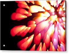 Powerful Explosion K874 Acrylic Print by Yoshiki Nakamura