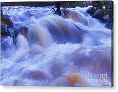 Powerful Flow Acrylic Print