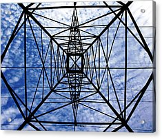 Powerful Geometry Acrylic Print