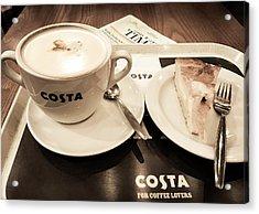 Prague Airport Costa Acrylic Print