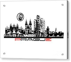 Prague Art Acrylic Print