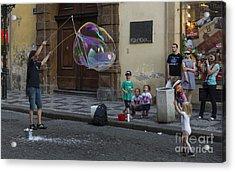 Prague Bubble Magic Acrylic Print