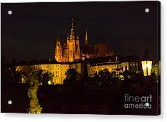 Prague Castle And St. Vitus Acrylic Print