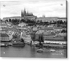 Prague Castle Acrylic Print by Keiko Richter