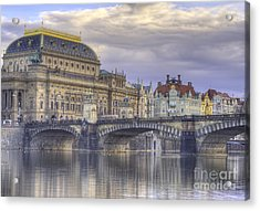 Prague, Czech Republic Acrylic Print by Juli Scalzi