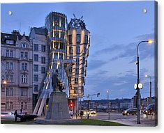 Prague Dancing House Acrylic Print