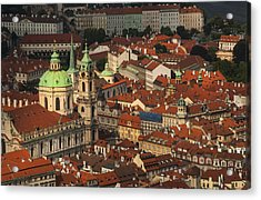 Prague From Above Acrylic Print