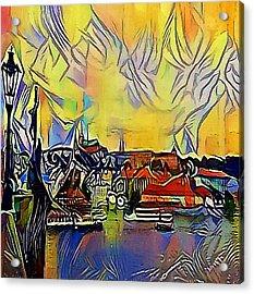 Prague Labe - My Www Vikinek-art.com Acrylic Print