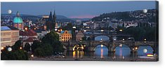 Prague - Most Beautiful City In The World Acrylic Print