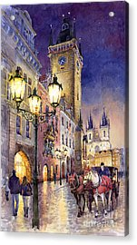 Prague Old Town Square 3 Acrylic Print