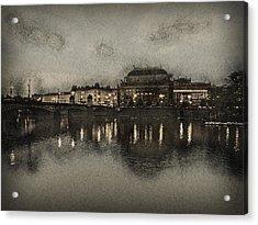 Prague Opera House Acrylic Print