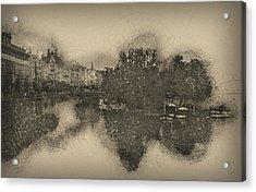 Prague Reflections Acrylic Print