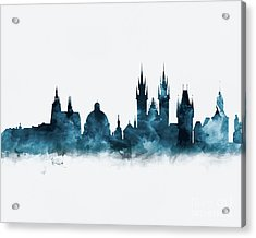 Prague Skyline Acrylic Print