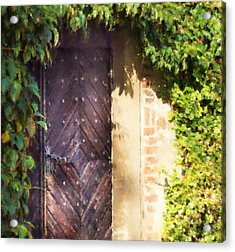 Praha Garden Door Acrylic Print by Shawn Wallwork