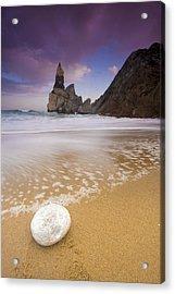 Praia Da Ursa Acrylic Print by Andre Goncalves