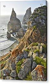 Acrylic Print featuring the photograph Praia Da Ursa  by Marek Stepan