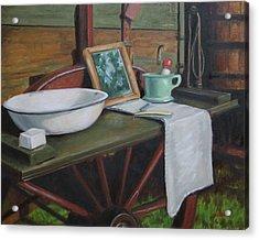 Prairie Ablutions Acrylic Print