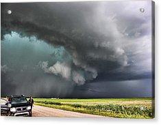 Acrylic Print featuring the photograph Prairie Beast by Ryan Crouse
