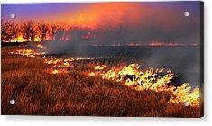 Prairie Burn Acrylic Print